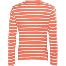 Regatta Carella Shirt Kids Neon Peach/White Stripe